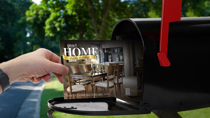 furniture mailings - direct mail marketing for furniture companies