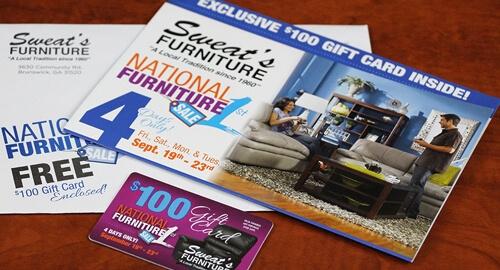 Furniture direct marketing